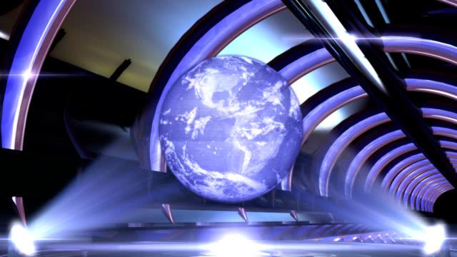 Hologram Earth video