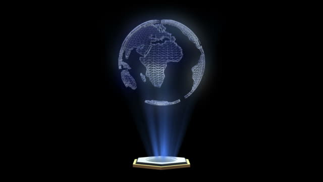 hologram video