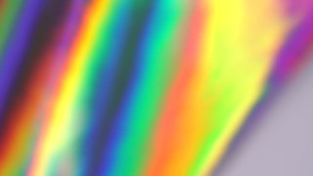 Video Holographic foil background. Rainbow gradient. Dynamic motion