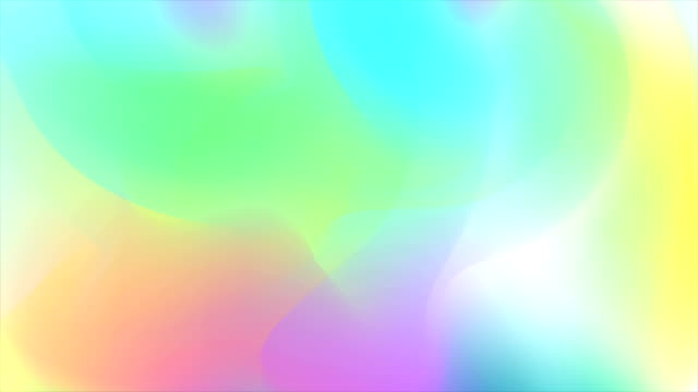 Holographic trend 80s colorful abstract video animation video