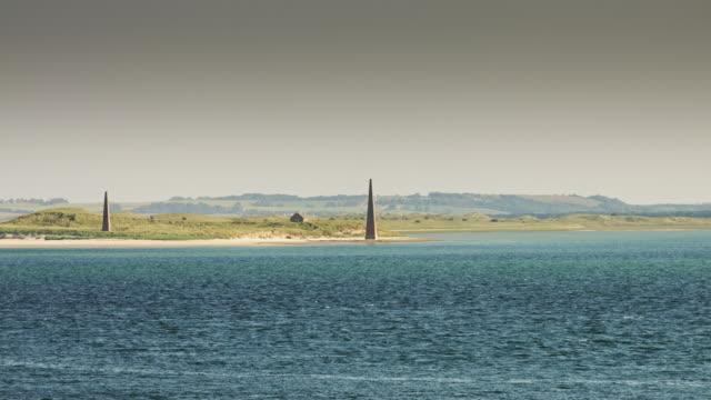 Holy Island Obelisks video