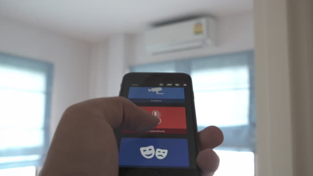 Home Automation air conditioner video