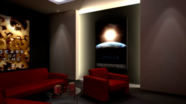 Home Cinema - Zoom to Screen video