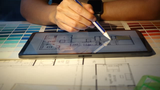 Home designer Thailand,Interior Designer, Textile, Home Improvement, Buying interior designer stock videos & royalty-free footage