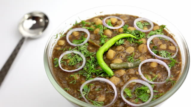 Home Made Indian Chana Chole Masala curry video