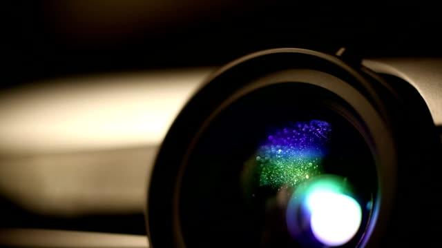Home theatre projector video