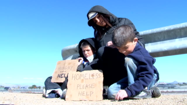 Homeless Family by Freeway video