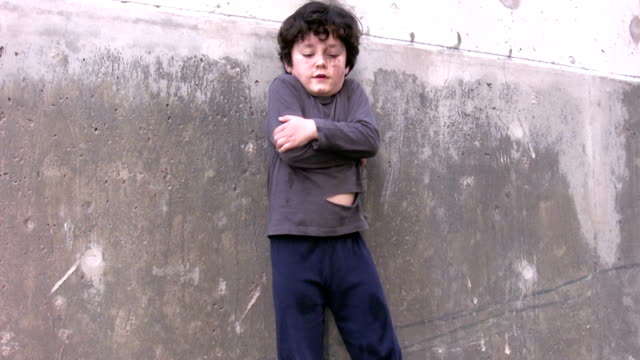 Best Homeless Children Stock Videos and Royalty-Free Footage