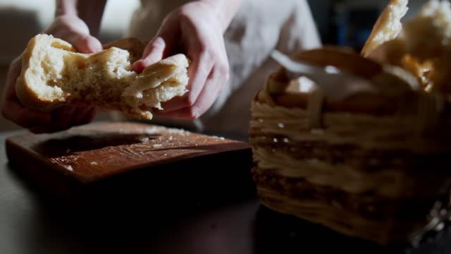 Homemade bread video