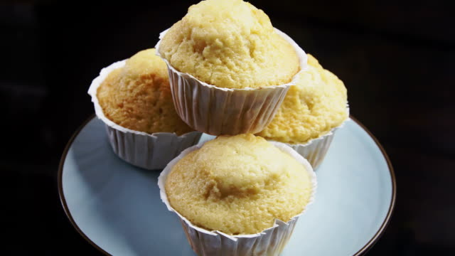 homemade muffins - gluten free stock videos and b-roll footage