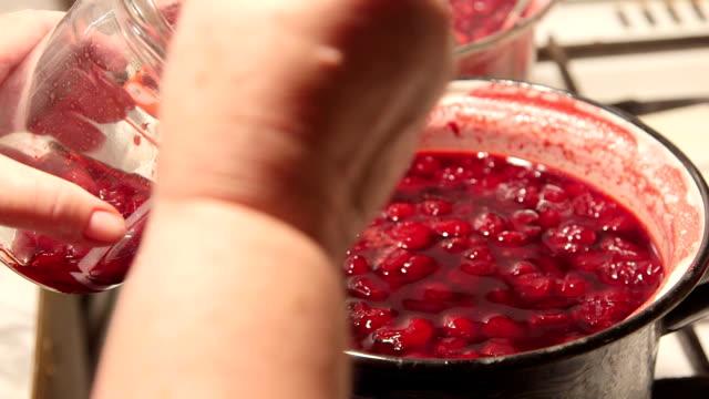 Homemade sweet cherry jam recipe video