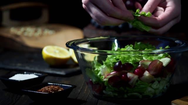Homemade waldorf salad
