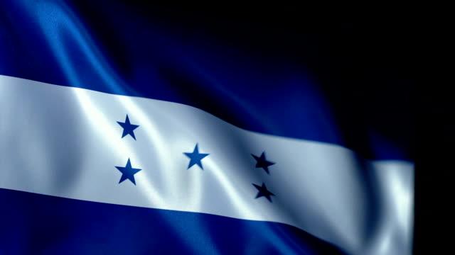 Honduras Flag Flapping