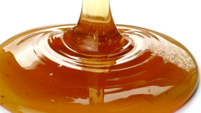 Honey Pouring Closeup video