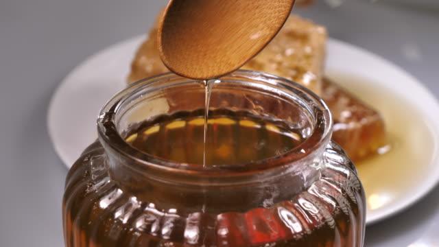 꿀 - rosh hashana 스톡 비디오 및 b-롤 화면