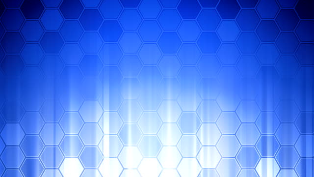 Honeycomb Wall Blue video