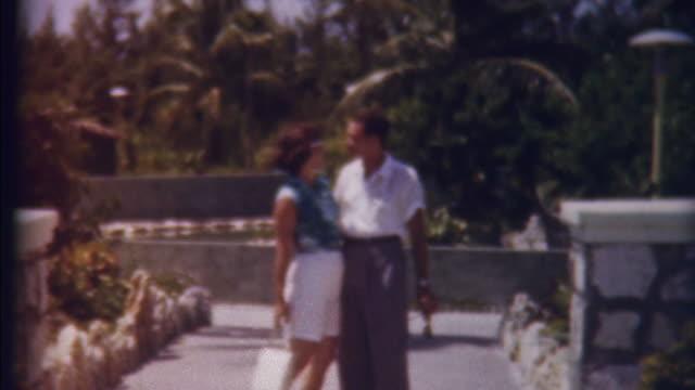 Honeymon in Paradise 1950's