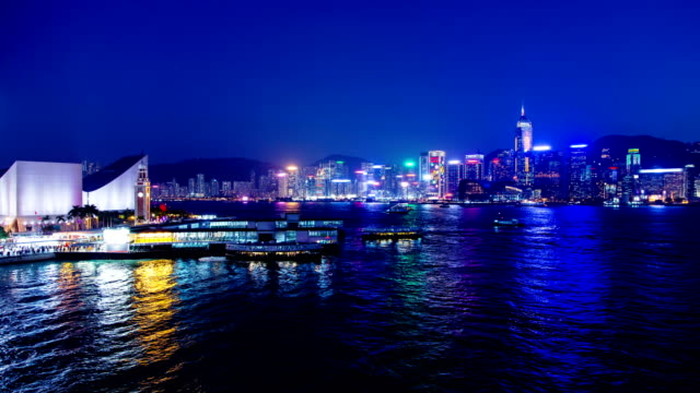 Hong Kong. 4K Wide shot. video