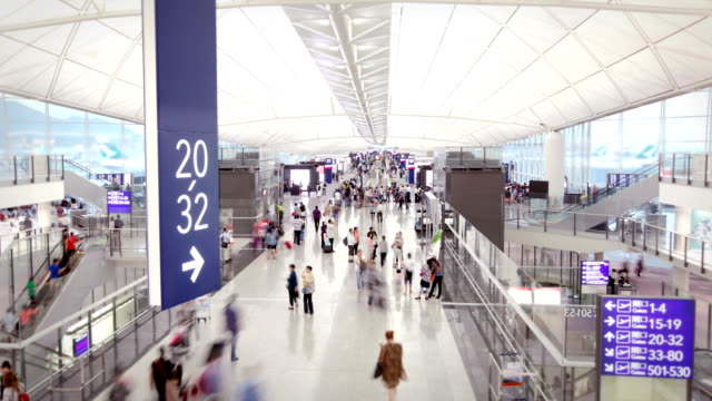 Hong Kong Airport video