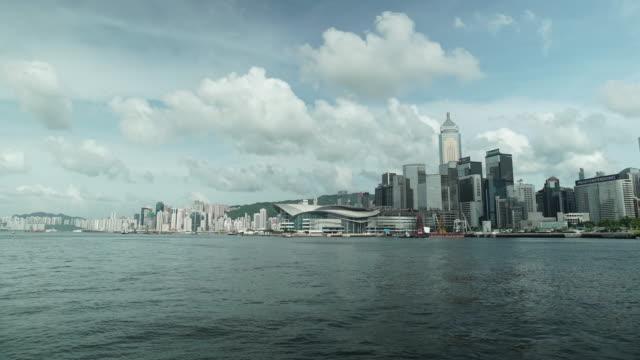 Hong Kong Bay Hong Kong Bay - Day timelapse sorpresa stock videos & royalty-free footage