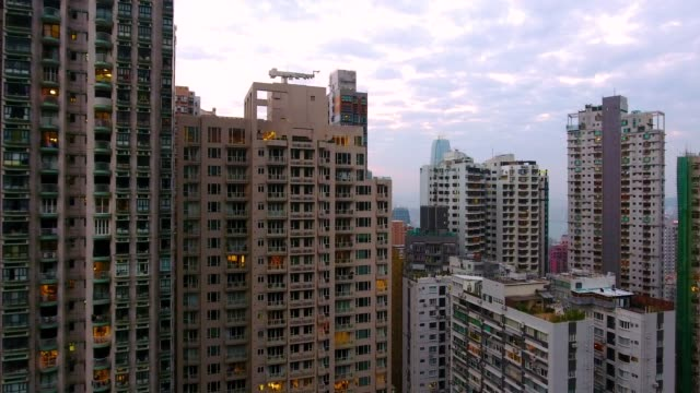 hong kong city  - bevölkerungsexplosion stock-videos und b-roll-filmmaterial