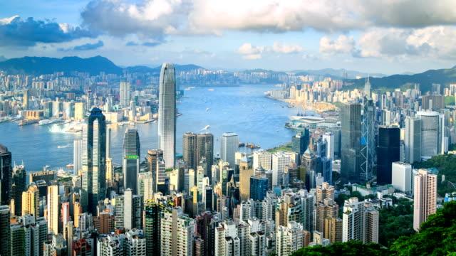 香港の街並み - 香港点の映像素材/bロール
