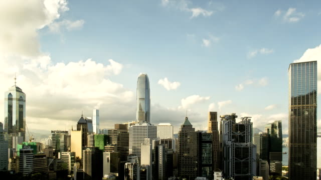 Hong Kong day to night HD timelapse video video