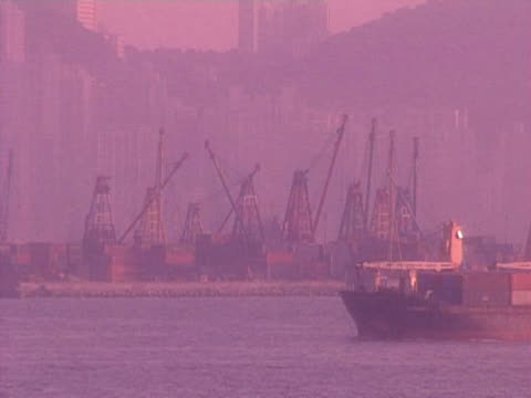 hong kong harbour - passenger craft stock videos & royalty-free footage