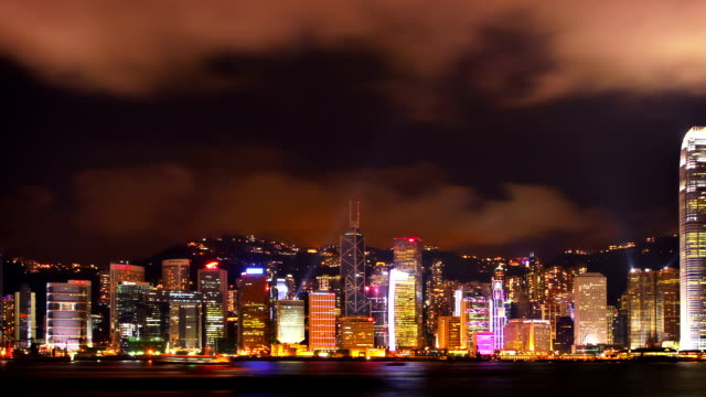 Hong Kong landmark video