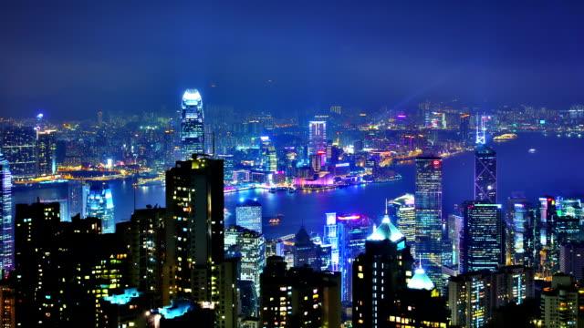 香港の夜 - 香港点の映像素材/bロール
