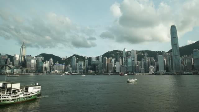 Hong Kong Star Ferry Hong Kong Bay time lapse sorpresa stock videos & royalty-free footage