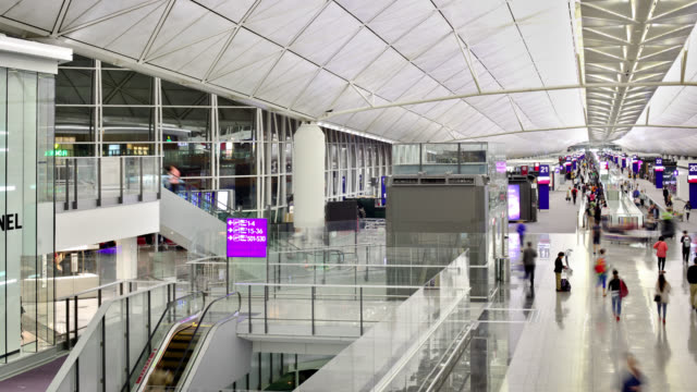 Hong Kong Terminal video