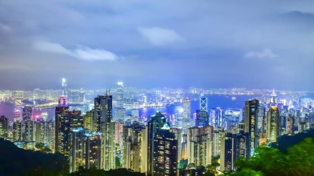 Hong Kong Time Lapse video