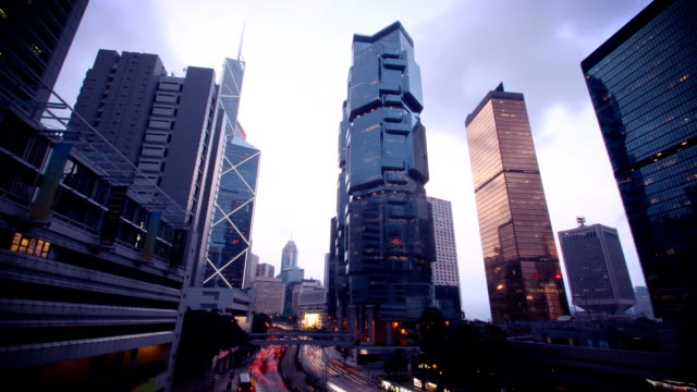 Hong Kong's Admiralty time-lapse video