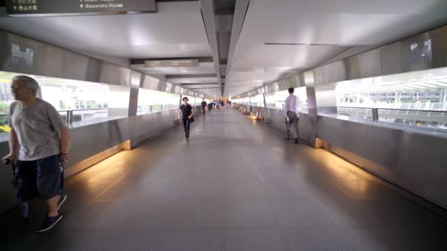 Hongkong overpass video
