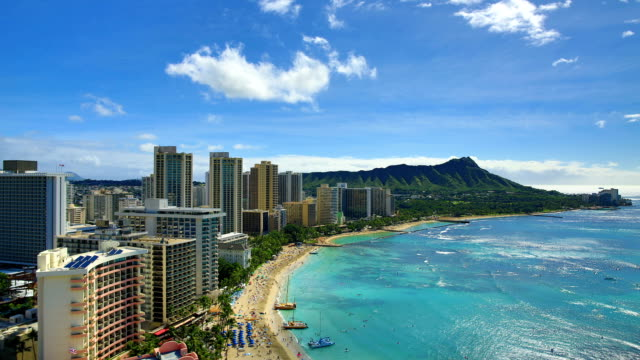 Honolulu: day time lapse Honolulu, HI and Big Island, HI time lapse and real time footage series. waikiki stock videos & royalty-free footage