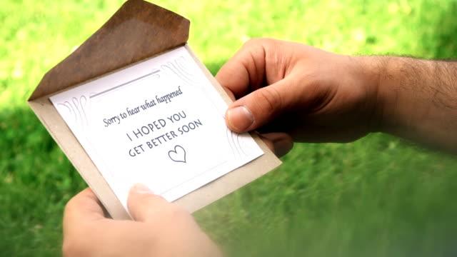 I Hoped You Get Better Soon Letter video