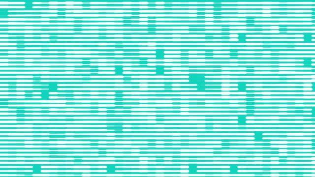 Horizontal lines blue futuristic background video