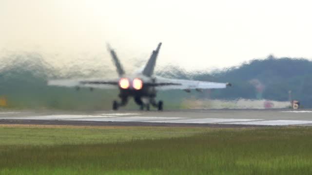 F/A 18 Hornet Field Carrier Landing Practice-Naval Air Facility Atsugi
