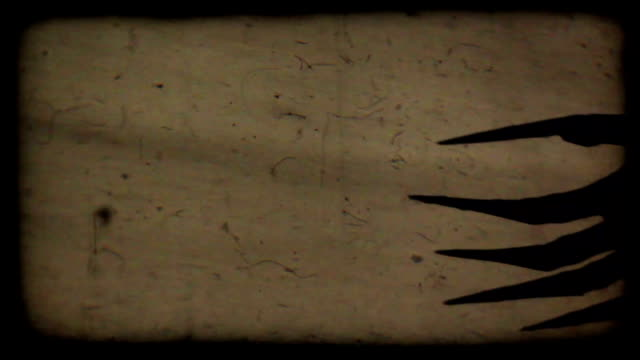 Horror Claws Spooky shadows on the wall. count dracula stock videos & royalty-free footage