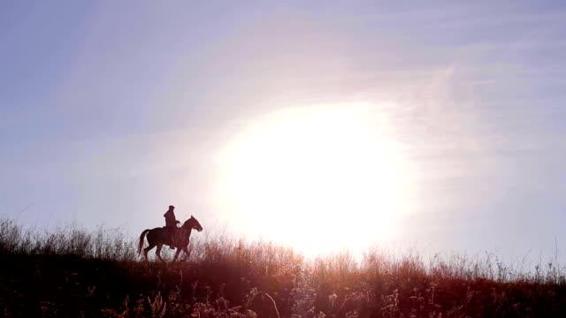 horseman - cowboy video stock e b–roll