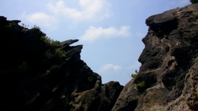 vídeos de stock, filmes e b-roll de baía de horseshoe - penedo
