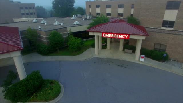 hospital aerial - 建築物外觀 個影片檔及 b 捲影像