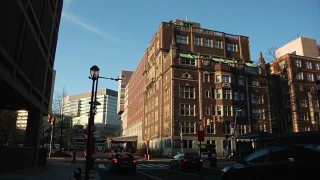 Hospital Building in Philadelphia video