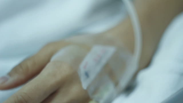 Hospital Patient with IV video
