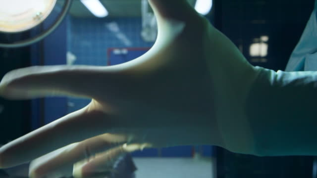 Hospital surgery gloves video