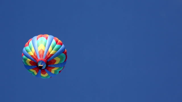 Hot Air Balloon From Below. video