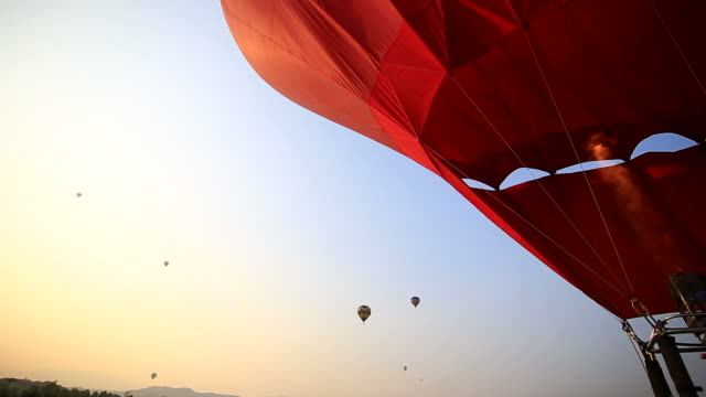 Hot Air Balloon Inflation video