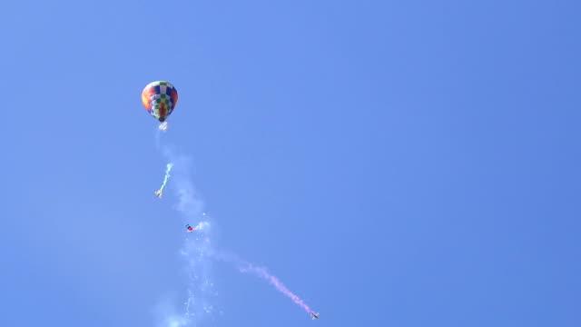 hot air balloon simulator in thailand video