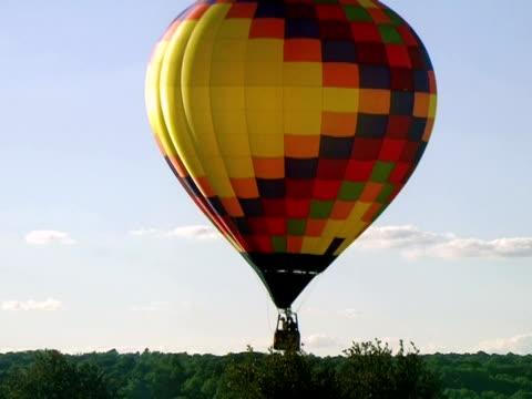 Hot Air Balloon Takes Flight video